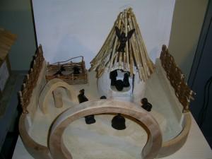 meine afrikanische Krippe mit Figuren aus Ebenholz