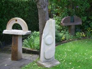 Skulpturen aus Bentheimer Sandstein