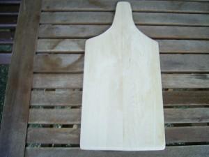 Brotschieber  aus 6 mm Buchenholz   45 x 21 cm